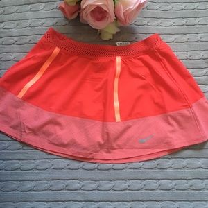 Nike Dri-fit coral sport skirt!